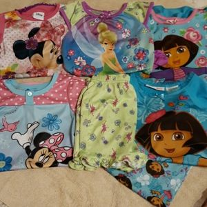 Other - 5pc pajamas girls 3T